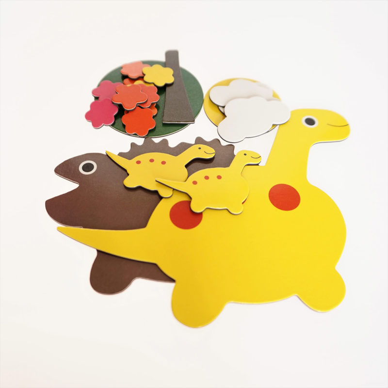 Dinosaur educational and learning toy for children aged 3-6