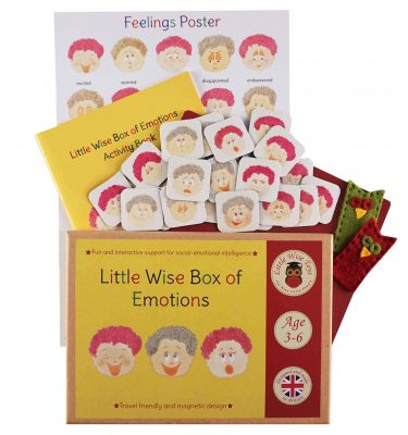 Emotions - early years educational and learning toy. Helping 3-6 year olds to understand and manage their emotions and feelings.