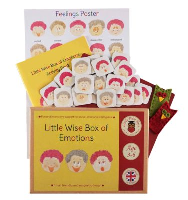 Emotional intelligence - educational toy for children aged 3-6