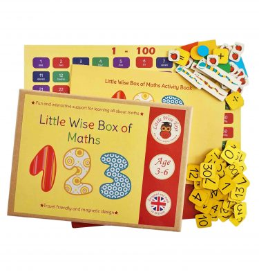 Maths and numbers educational and learning toy for 3-6 7ear olds.