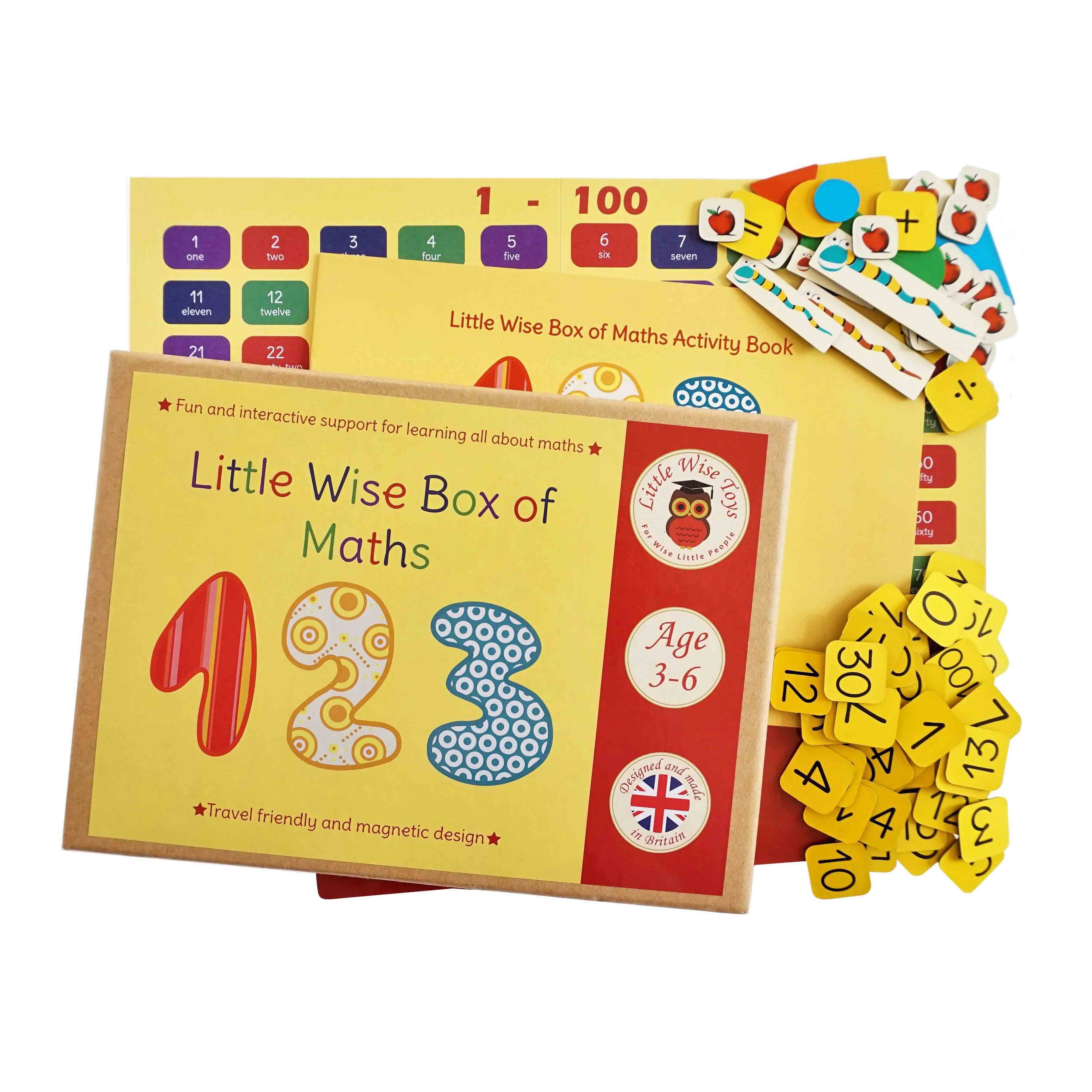 Maths and numbers educational and learning toy