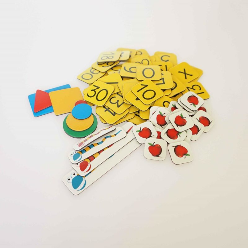 Maths activity tabs - educational and learning toy