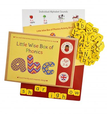 Phonics educational and learning toy for 3-6 year olds.