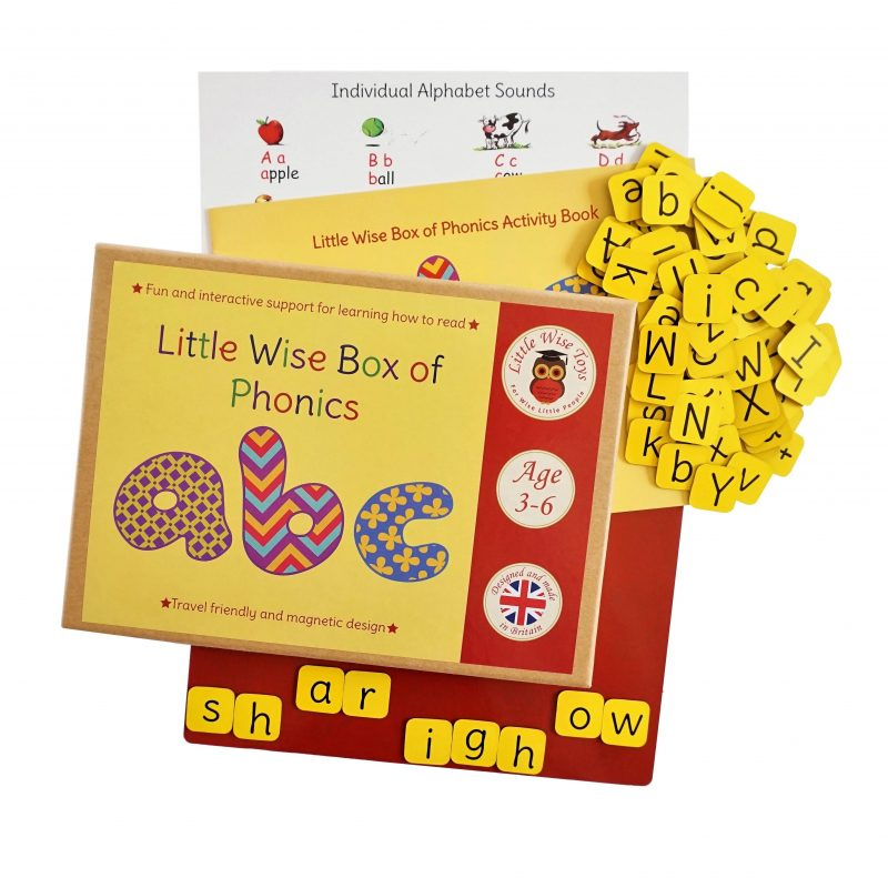 Phonics educational and learning toy