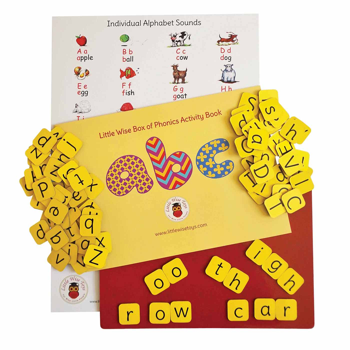 Phonics game - educational toy and learning toy for children.