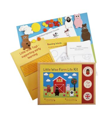 A farm life educational toy and learning toy. Educational resource. For children aged 3-6.