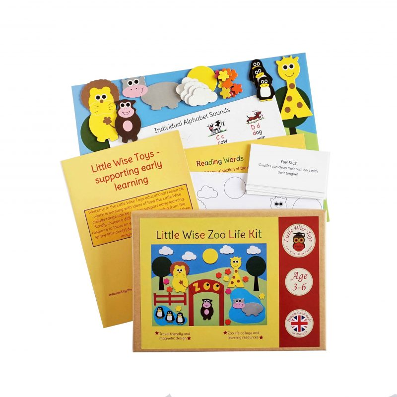 A zoo life educational toy and learning toy