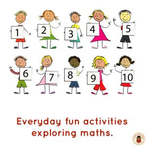 Everyday activities for learning about maths