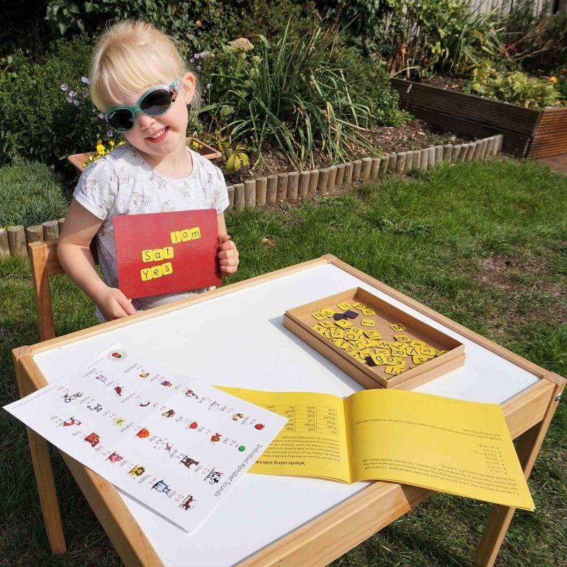 Phonics toy. Phonics game. Phonics resource.