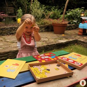 maths pre-school activity learning and educational toy. Hands-on learning.